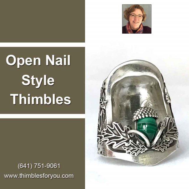 Open Nail Style Thimbles