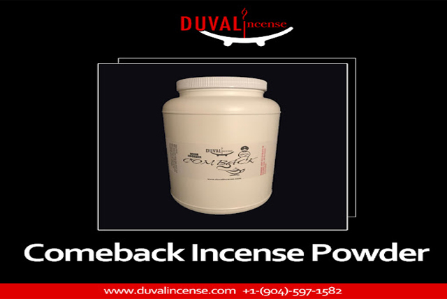 Comeback Incense in Florida