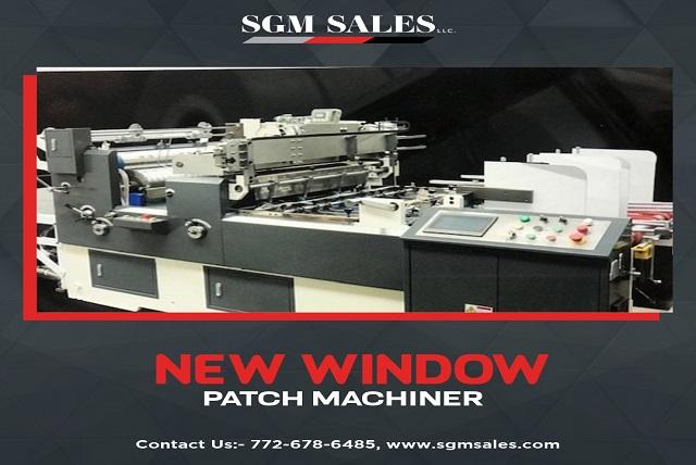 window patch Machinery